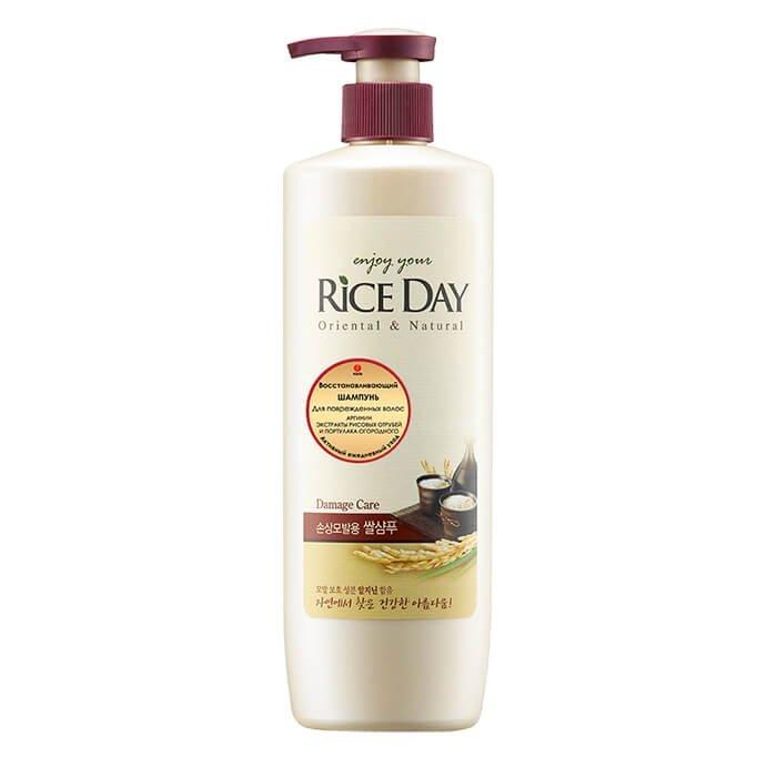Шампунь для волос CJ Lion Rice Day Shampoo for Damaged Hair