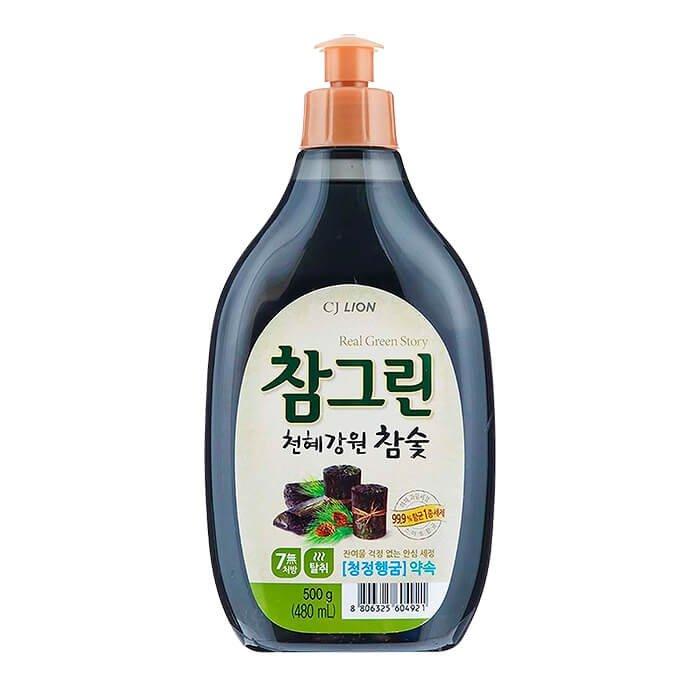 Средство для мытья посуды CJ Lion Charcoal Squeaky Clean (mini)