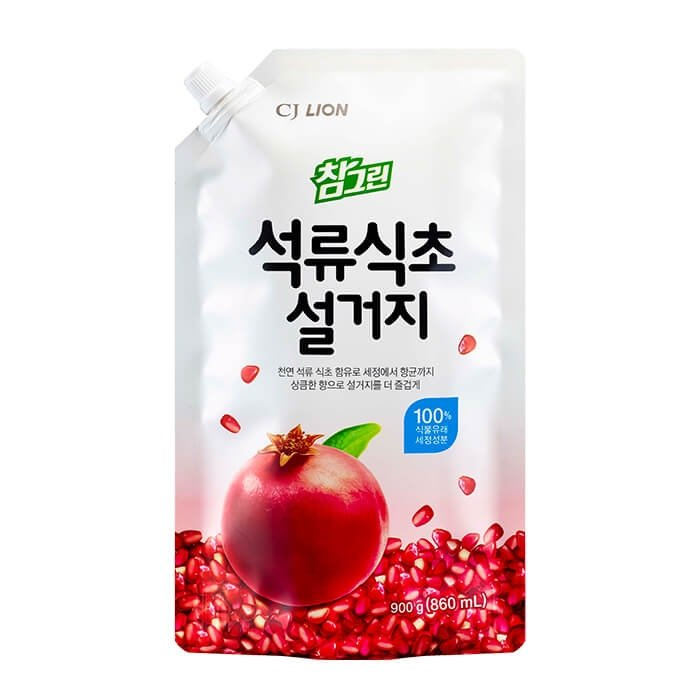 Средство для мытья посуды CJ Lion Pomegranate Vinegar Dishwashing (Refill)
