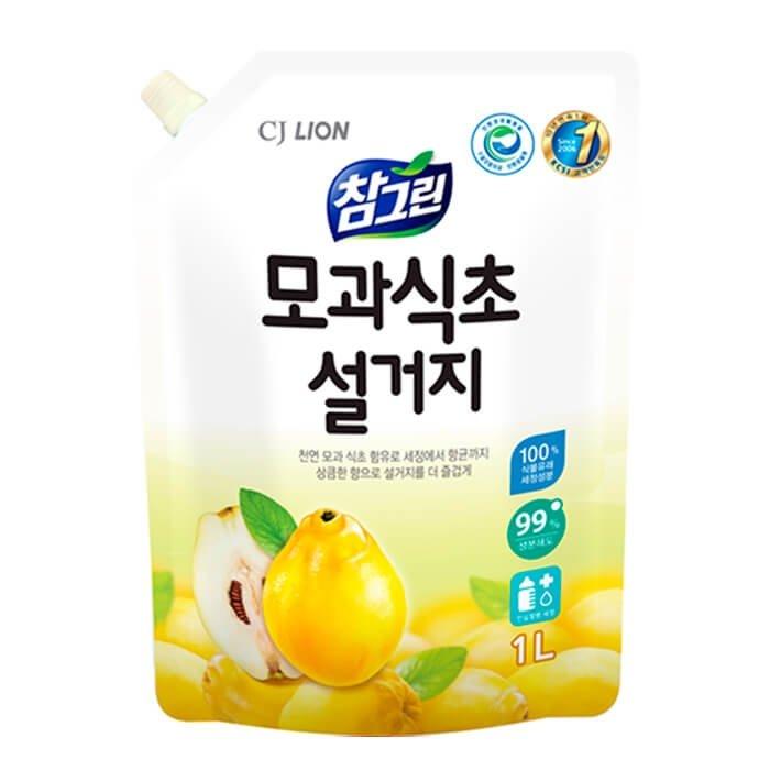 Средство для мытья посуды CJ Lion Quince Vinegar Dishwashing (Refill)