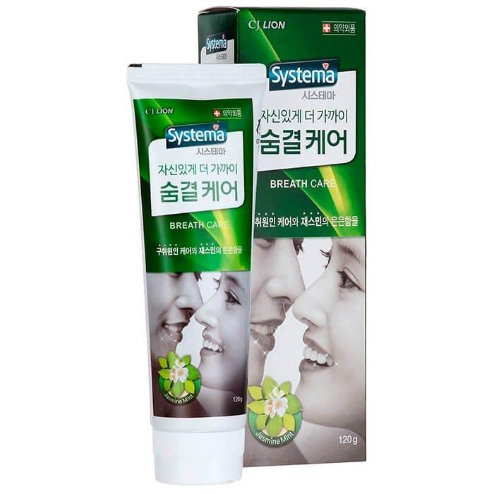 Зубная паста CJ Lion Dentor Systema Breath Care Advance Toothpaste