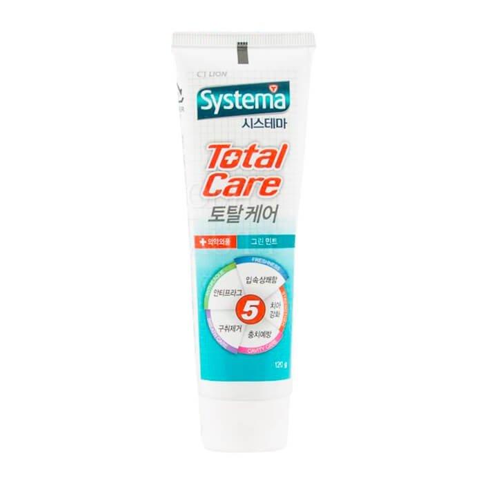 Зубная паста CJ Lion Dentor Systema Total Care Toothpaste - Fresh Green Mint