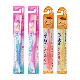 Набор детских и взрослых зубных щёток Create Family Toothbrush Set 4