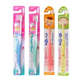 Набор детских и взрослых зубных щёток Create Family Toothbrush Set 5