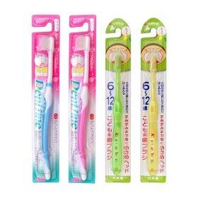 Набор детских и взрослых зубных щёток Create Family Toothbrush Set 6