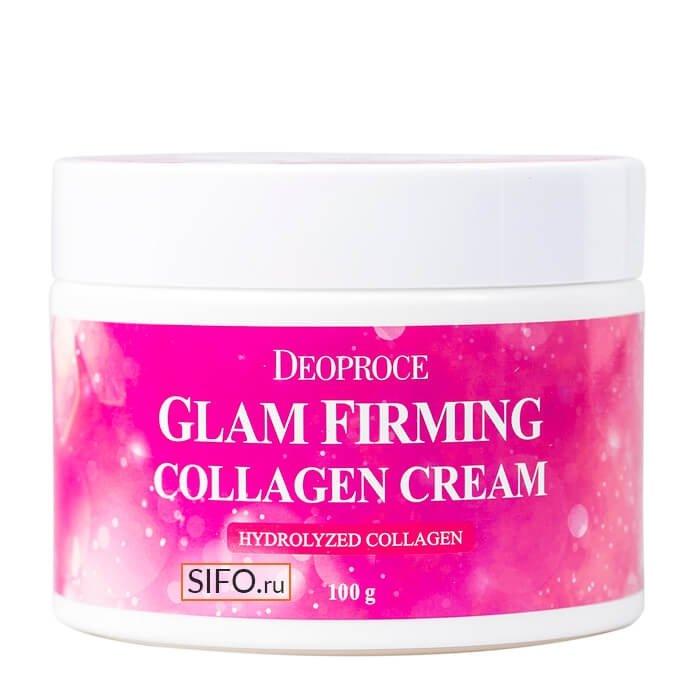 Крем для лица Deoproce Moisture Glam Firming Collagen Cream