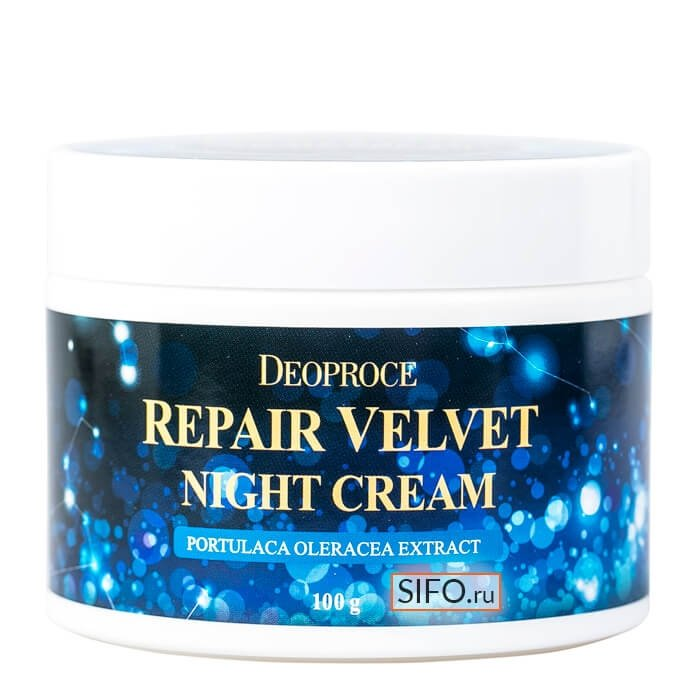 Крем для лица Deoproce Moisture Repair Velvet Night Cream