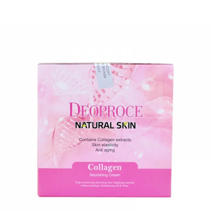 Крем для лица Deoproce Natural Skin Collagen Nourishing Cream