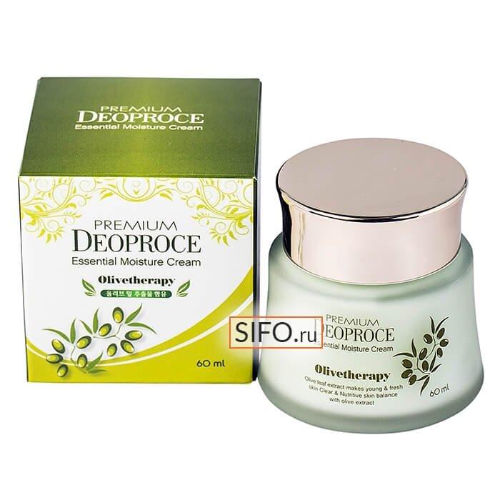 Крем для лица Premium Deoproce Olivetherapy Essential Moisture Cream