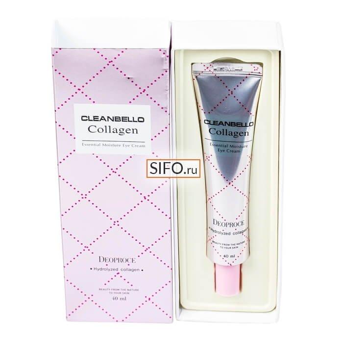 Крем для век Deoproce Cleanbello Collagen Essential Moisture Eye Cream