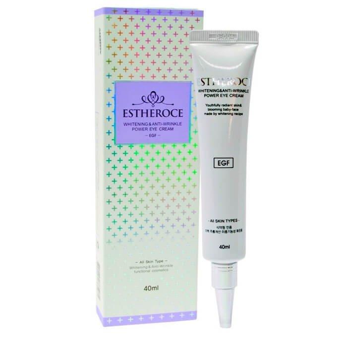 Крем для век Deoproce Estheroce Whitening & Anti-wrinkle Power Eye Cream