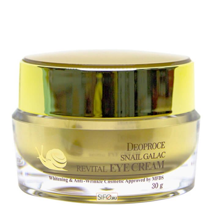 Крем для век Deoproce Snail Galac-Tox Revital Eye Cream