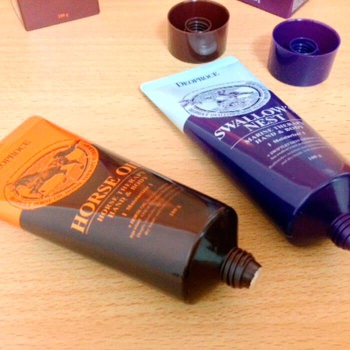 Крем с лошадиным жиром Deoproce Hand & Body Horse Oil
