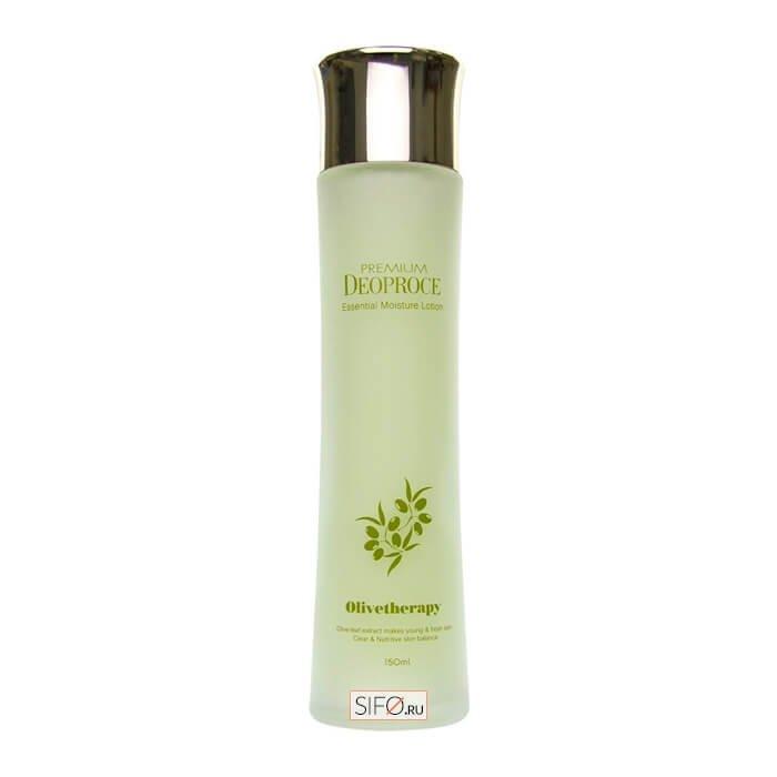 Лосьон для лица Premium Deoproce Olivetherapy Essential Moisture Lotion