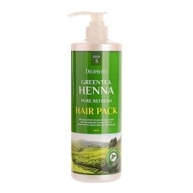 Маска для волос Deoproce Greentea Henna Pure Fresh Hair Pack