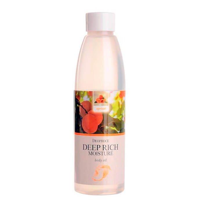Масло для тела Deoproce Deep Rich Moisture Body Oil - Apricot