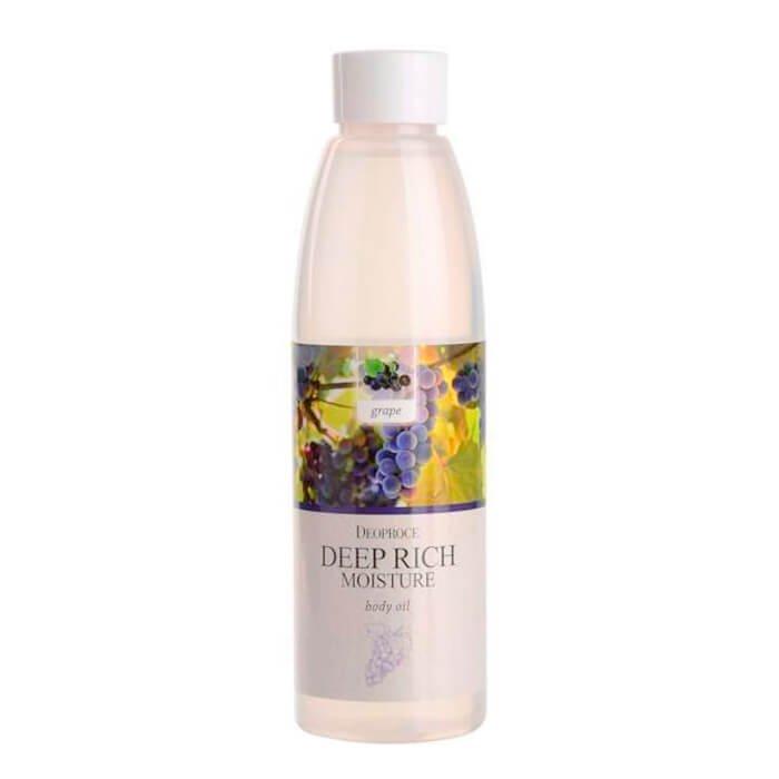 Масло для тела Deoproce Deep Rich Moisture Body Oil - Grape