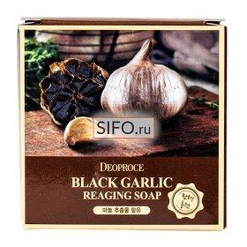 Мыло для лица Deoproce Black Garlic Soap