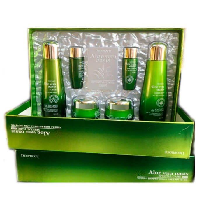 Набор для лица Deoproce Aloe Vera Oasis Special Care 4 Set
