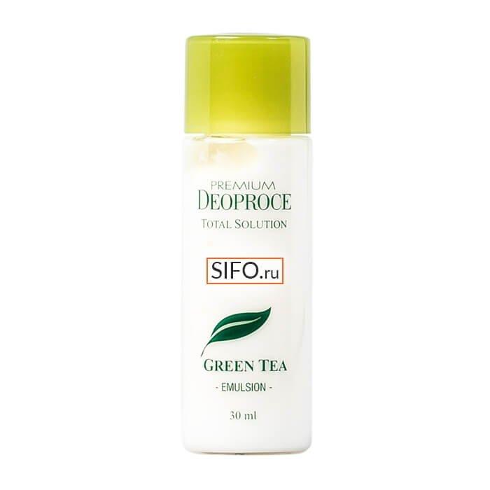 Набор для лица Premium Deoproce Green Tea Total Solution 3 Set