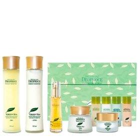 Набор для лица Premium Deoproce Green Tea Total Solution 5 Set