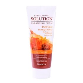 Очищающая пенка Deoproce Natural Perfect Solution Cleansing Foam Pore Care