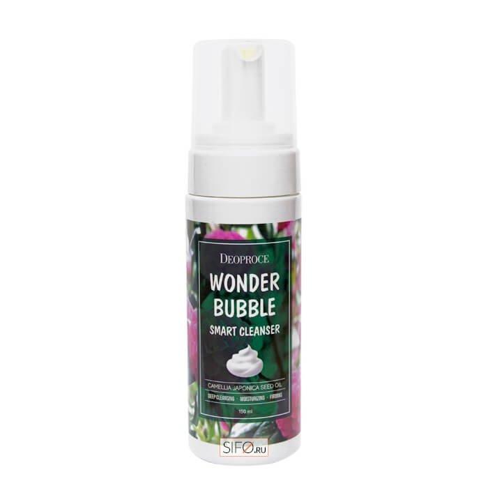 Пенка для умывания Deoproce Wonder Bubble Smart Cleanser