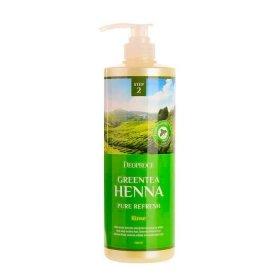 Кондиционер для волос Deoproce Green Tea Henna Pure Refresh Rinse