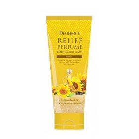 Скраб для тела Deoproce Relief Perfume Body Scrub Wash - Sunflower Oil