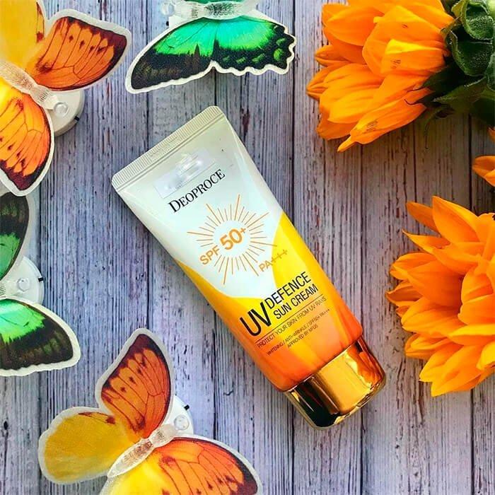 Солнцезащитный крем Deoproce UV Deffence Sun Protector