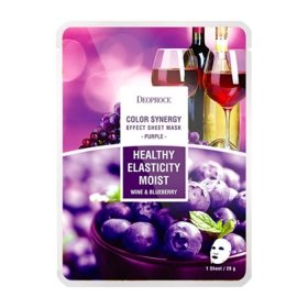 Тканевая маска Deoproce Color Synergy Effect Sheet Mask Purple