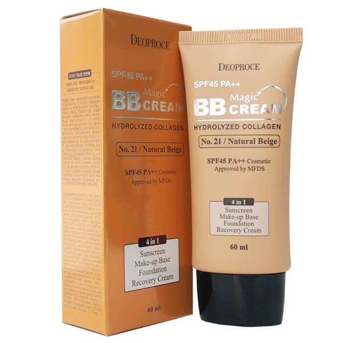 ВВ крем Deoproce Magic BB Cream