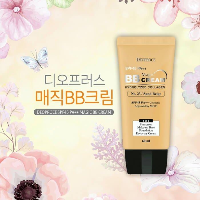 ВВ крем Deoproce Magic BB Cream