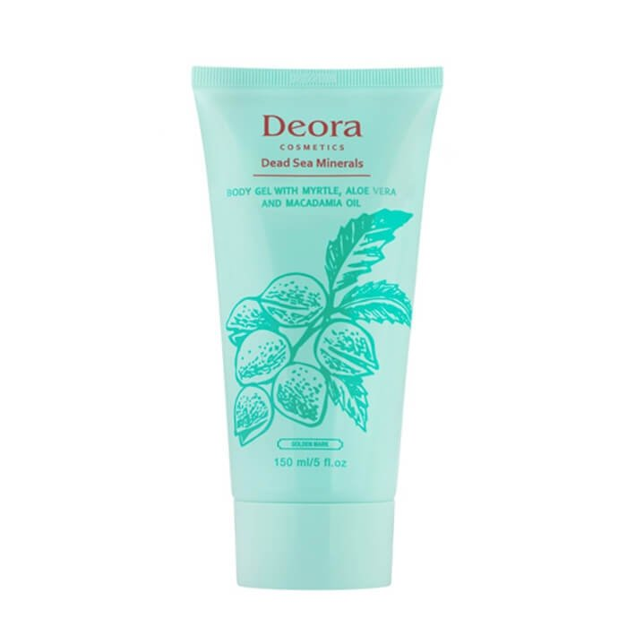 Гель для тела Deora Body Gel With Myrtle, Aloe Vera & Macadamia Oil