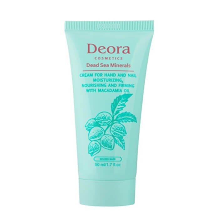Крем для рук и ногтей Deora Cream For Hand & Nail With Macadamia Oil (mini)