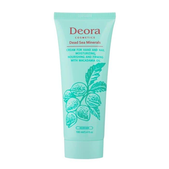 Крем для рук и ногтей Deora Cream For Hand & Nail With Macadamia Oil