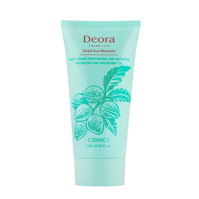 Крем для тела Deora Body Cream Passiflora & Macadamia Oil