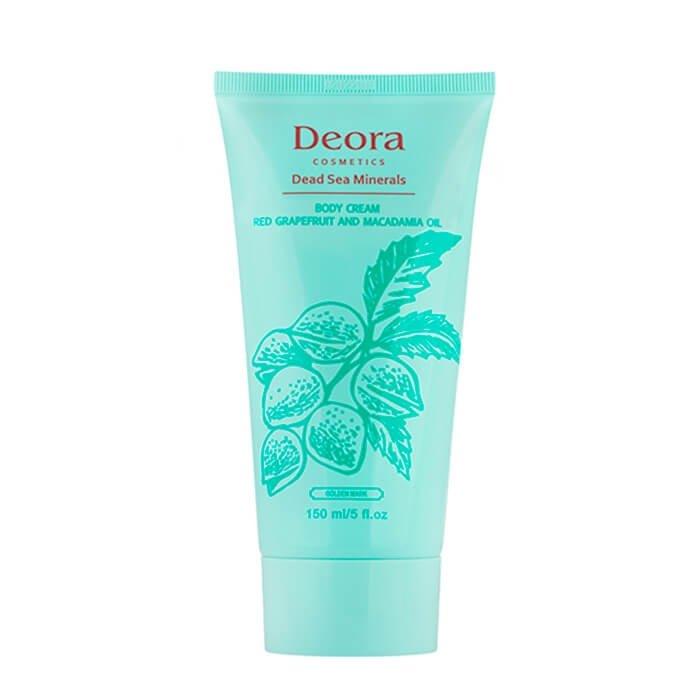 Крем для тела Deora Body Cream Red Grapefruit & Macadamia Oil