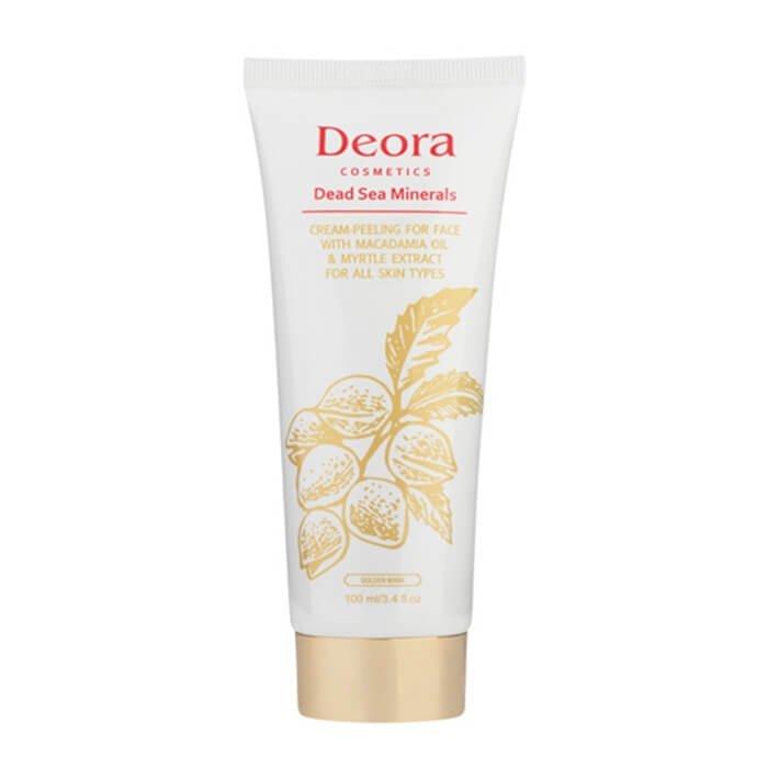 Крем-пилинг для лица Deora Cream-Peeling For Face With Macadamia Oil & Myrtle Extract