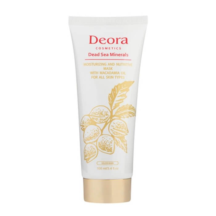 Маска для лица Deora Moisturizing & Nutritive Mask With Macadamia Oil