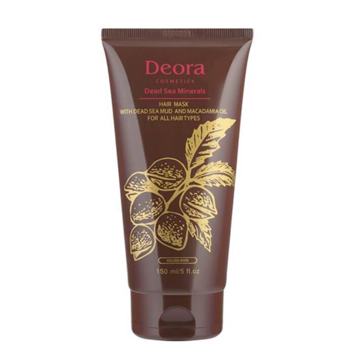 Маска для волос Deora Hair Mask With Dead Sea Mud & Macadamia Oil