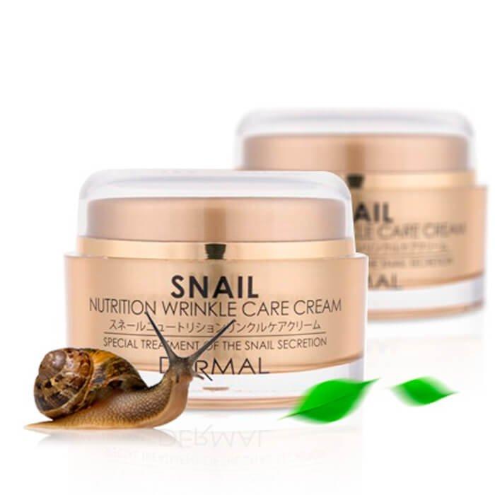 Крем для лица Dermal Snail Nutrition Wrinkle Care Cream