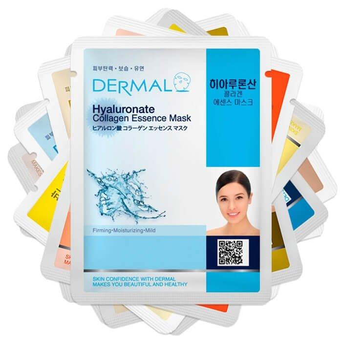 Набор тканевых масок Dermal - Антивозрастной