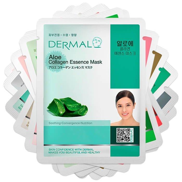 Набор тканевых масок Dermal - Для проблемной кожи