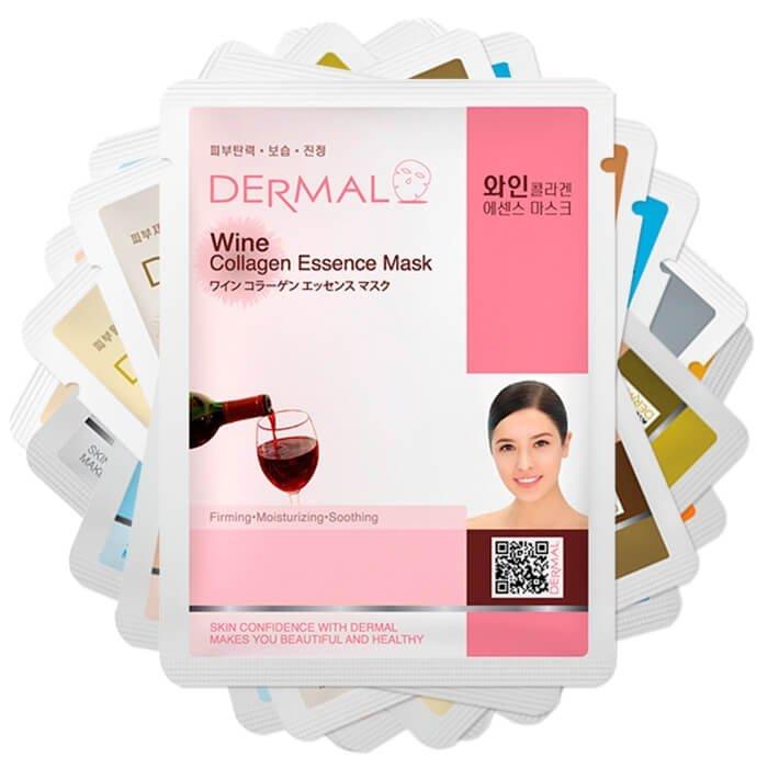Набор тканевых масок Dermal - Интенсивное питание