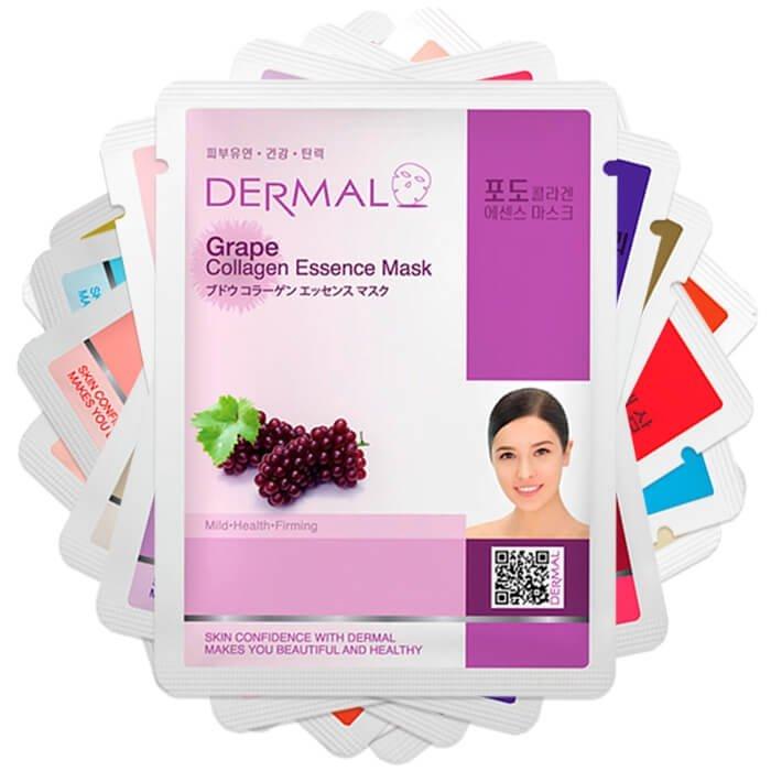Набор тканевых масок Dermal - Упругость & Эластичность