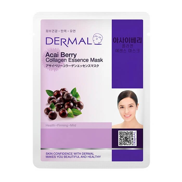 Тканевая маска Dermal Acai Berry Collagen Essence Mask