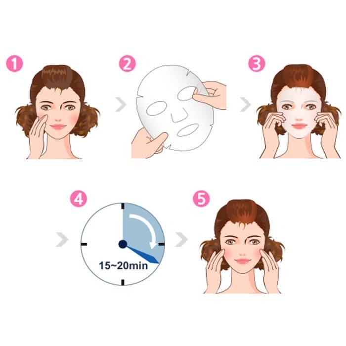 Тканевая маска Dermal Advanced Diamond Healing Essence Mask