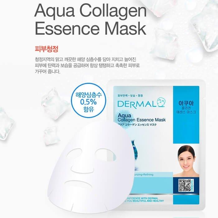 Тканевая маска Dermal Aqua Collagen Essence Mask