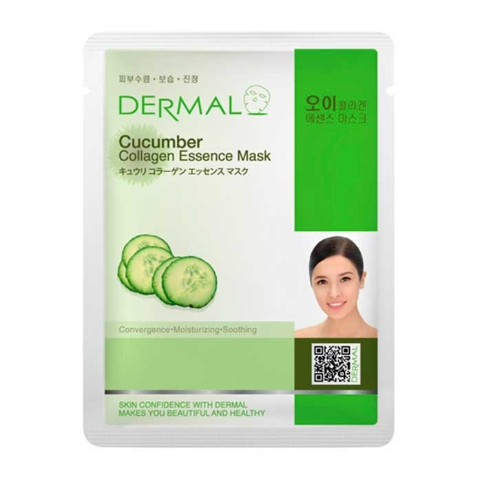 Тканевая маска Dermal Cucumber Collagen Essence Mask